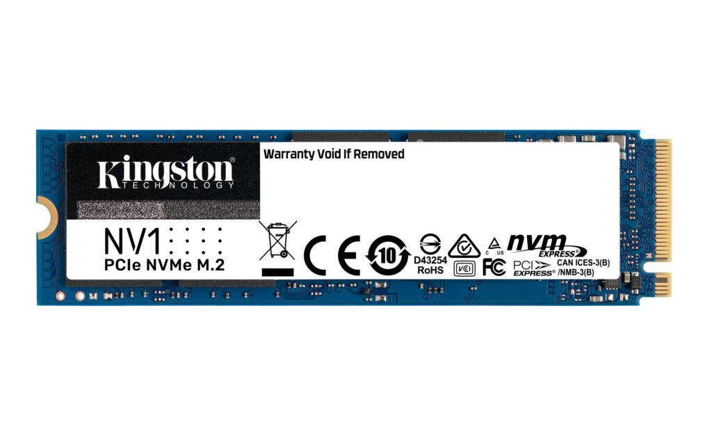 Kingston sets to reignite the SSD market in India with the launch of its entry-level NVMe SSD – Kingston NV1 NVMe PCIe SSD