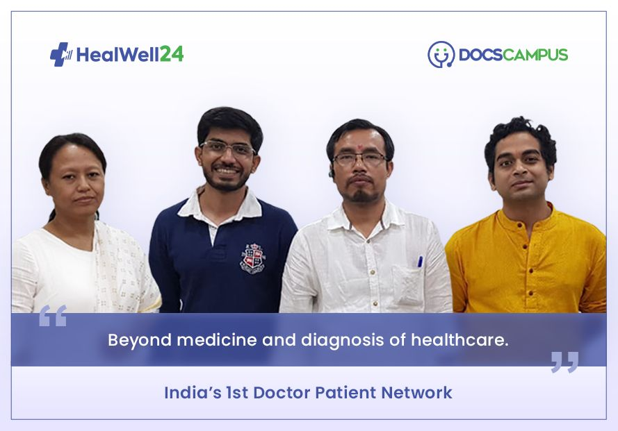 HealWell24 looking to bridge gaps in healthcare sector in India with DocsCampus.com
