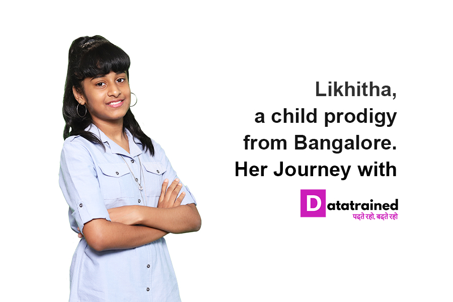 India's Youngest Data Scientist   Likhita's Data Science Journey with DataTrained