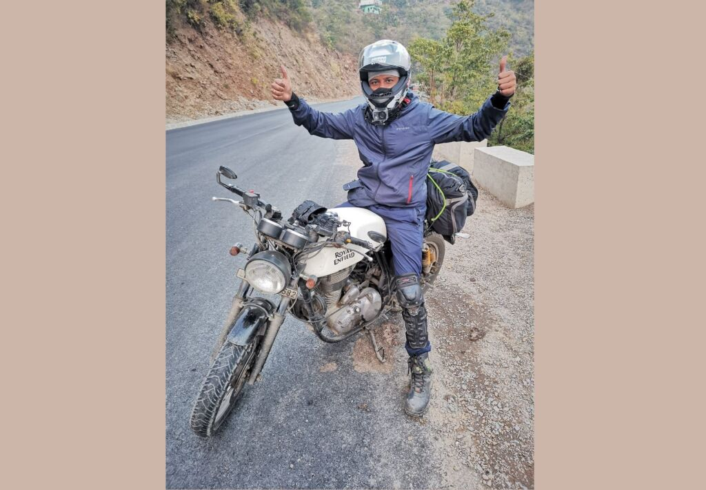 From Banking to YouTube as a moto vlogger, Ravi Dhameja shows how to live passionately